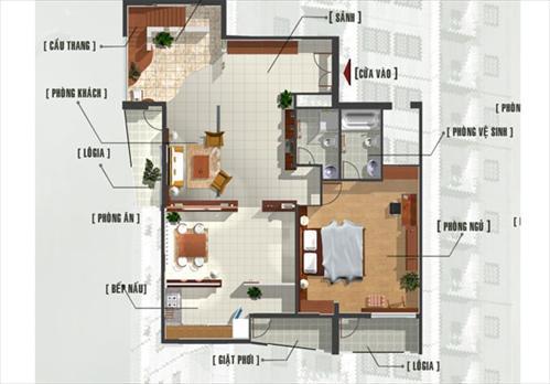 Thiết kế, mẫu nhà của Hà Thành Plaza   ảnh 1